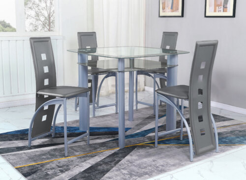 Grey Echo Counter Height Set