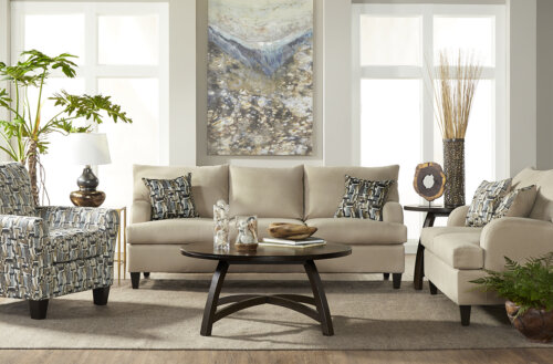Image Lambskin Living Room Collection