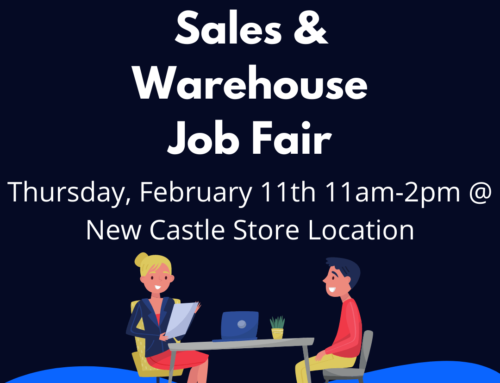 UFO Sales & Warehouse Job Fair – February 11th, 11am-2pm
