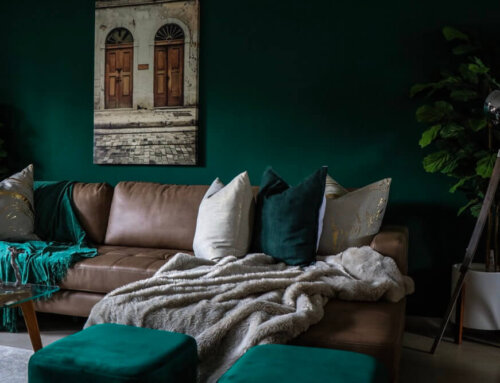 Decor Tips: How to Make Your Leather Sofa or Sectional Feel Cozy