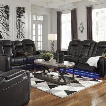 Black Party Time Reclining Collection