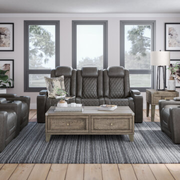 HyllMont Gray Reclining Collection